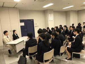 会社説明会座談会(20180308)